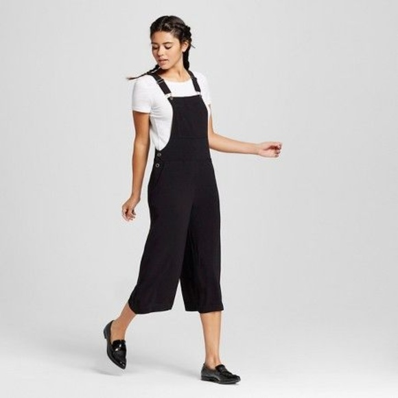 Xhilaration Pants - Black Overall Jumpsuit